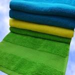 Полотенца махровые с бордюром